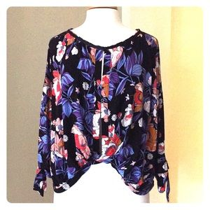Free People Floral Top - Size S